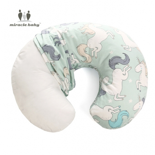 Miracle Baby Nursing Pillow Cover, Pillow Slipcover, Waterproof Breastfeeding Pillow Protective Cover Cushion Case