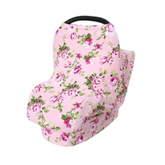 Apron spandex cotton stroller cover shopping cart cover breastfeeding baby nursing cover scarf