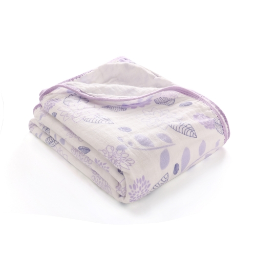 Muslin Swaddle Blankets With Double Layers 59''x 47'', 100% Cotton, Baby Quilts,  59''x 47''