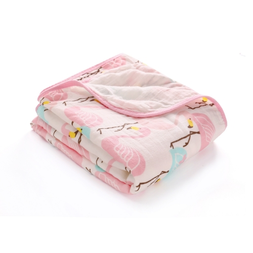 Swaddles,100% Cotton Muslin Blankets, 59''x 47'' with Double Layer,Extra Soft