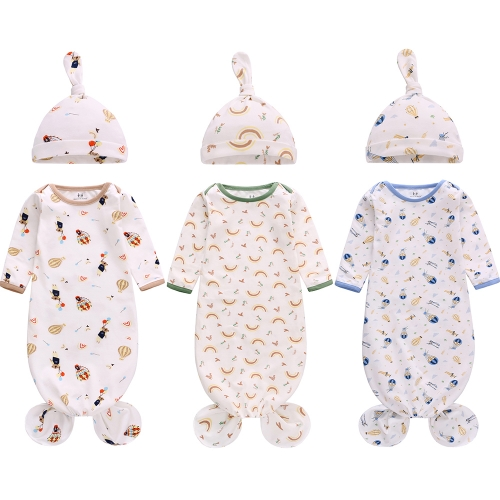 Miracle Baby Selling Sleeping Bag Set Kids Breathable Wearable Baby Sleep Bag 3 Pack Fishtail Newborn Baby Sleep Sack